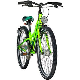 s'cool XXlite 24 7-S Steel Børn, neon green